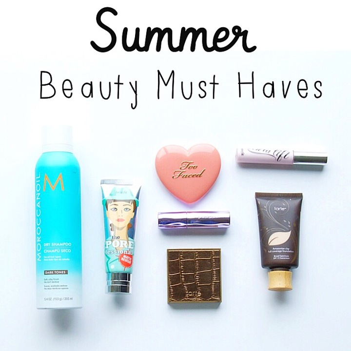 2016 Summer Beauty Must Haves